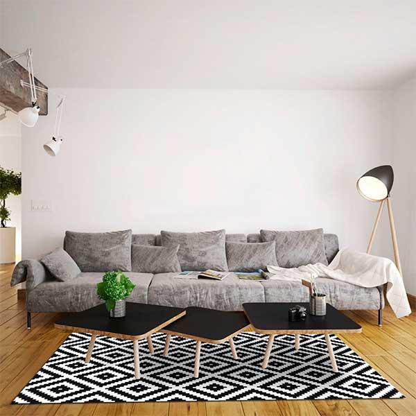 tapis-vinyle-mosaique-cubes-noir-et-blanc-140-x-200-cm