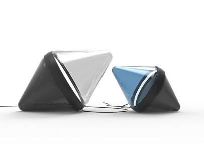 Wonderglass lampe à poser hollow de dan Yeffet